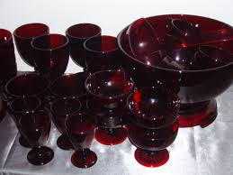 antique glass door knobs value value of antique dishes ruby red glass3 150x150 ruby red