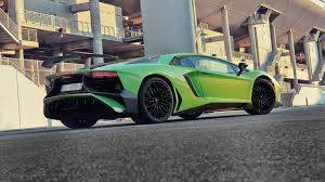 Lamborghini Aventador Green And Black - lamborghini aventador sv 2015 review by car magazine