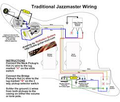 rothstein guitars u2022 jazzmaster wiring diagrams
