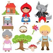 red riding hood stock photos illustrations royalty