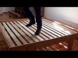 How To Build A Platform Bed With Storage by Wn Platform Bed