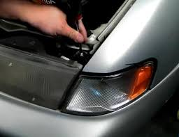 how to install led lights in car headlights car parts nissan sentra 1995 1996 1997 1998 1999 projector