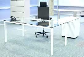 Office Furniture Glass Desk Office Glass Desk Atken Me
