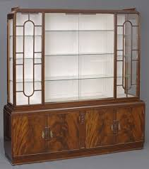 art deco china cabinet product art deco display cabinet