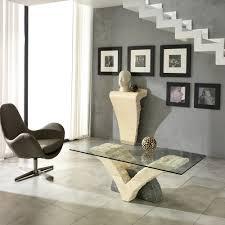 Table Salon Moderne by Table Basse Moderne Avec Plateau En Verre Gardenia
