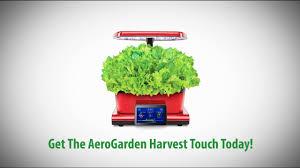 the smart countertop garden u2013 aerogarden harvest touch youtube