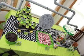 teenage mutant ninja turtles birthday party ideas photo 6 of 47