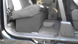 2000 Chevy Silverado Truck Bed - chevrolet extended cab speaker box 2007 and up youtube