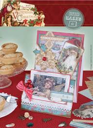 for classic opulence choose papermania u0027s victorian christmas