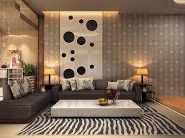 Zebra Print Table Lamp Living Room Dot Pattern Delicate Wallpaper Bold Zebra Print Rug