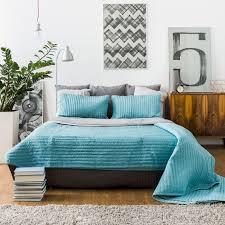 deco chambre turquoise gris 20 idées de décoration de chambre bleu turquoise