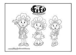 fifi primrose colouring picture ichild
