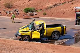 yellow toyota truck 1 vehicle rolls 1 flips 1 man seriously injured in accident on