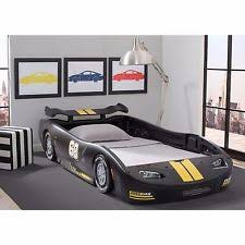 Little Tikes Race Car Bed Little Tikes Black Sports Car Twin Bed Ebay