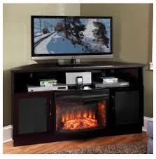 corner tv cabinet with electric fireplace tv stands fireplace combo designing home corner fireplaces modern