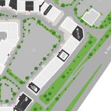 map of allen center map for allen premium outlets a shopping center in allen