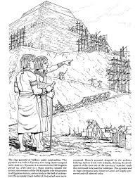ancient egypt coloring page ancient egypt slaves building pyrimads egypt coloring book pages