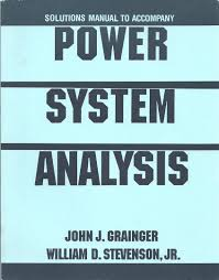 solutions manual to accompany power system analysis john j