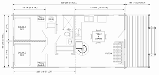floor plans for cabins 16 x34 with loft plus 6 x34 porch side cabin with loft floor plans prairie kraft specialties log