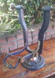 hozan bicycle tool no 330 cast iron truing stand vintage antique