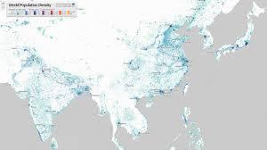Canada Population Density Map world population density vivid maps