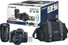 canon t6i black friday canon eos rebel t6i dslr camera with 18 55mm and 55 250mm lenses