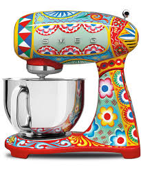 dolce gabbana smeg kitchen appliance collection picture