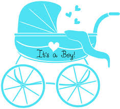 baby boy baby shower baby boy clipart image baby shower graphic of stroller or baby