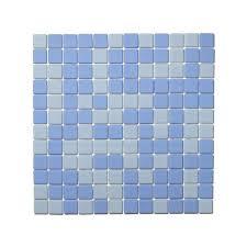 lucedentro ocean blue glass mosaic tiles matte 1 sq metre box