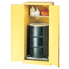 Vertical Storage Cabinet Eagle One Drum Vertical Storage Cabinet 55 Gallon