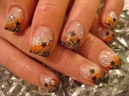 autumn acrylic nails nails acrylic it is called hologram