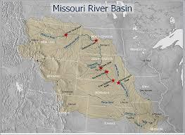 map of missouri river missouri river basin education