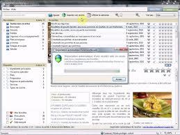 logiciel recette cuisine importation automatique de recettes dans le logiciel le