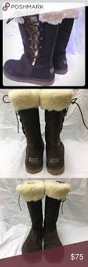 s lace up boots australia ugg australia s lace up boots sz 9 sheepskin