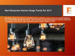 restaurant interior design trends for 2017