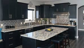 black kitchen cabinets ideas kitchen with black cabinets beautiful home design ideas exitallergy