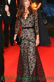 Red Carpet Gowns Sale by Gorgeous Modest Kate Middleton Best Black Lace Evening Gowns For