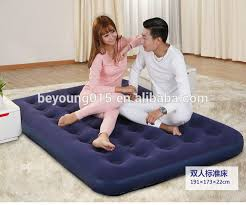 2016 new design 3 in 1 folding inflatable single air bed for sale
