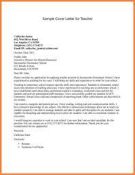 application letter for job of teacher