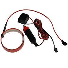 aliexpress com buy 12v 1m flexible glow el tape led light el
