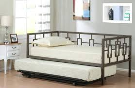sofa good looking twin daybed frame with pop up trundle mattress