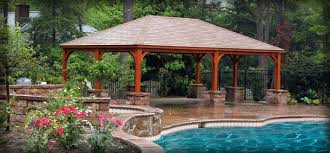 Backyard Gazebos Pictures - outdoor garden u0026 backyard pavilions homeplace structures