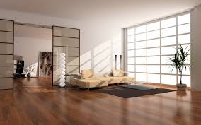 Japanese Style Home Interior Design Japan Style Apartment Beige Couch Shiny Wood Floors Create Warm