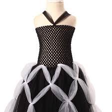 aliexpress com buy ksummeree girls black spider web tutu dress