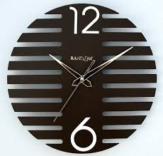 buy random wings wooden wall clock brown online at low prices in