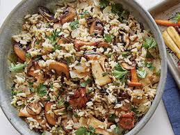 rice with mushrooms recipe myrecipes
