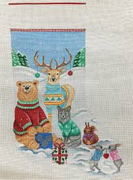 christmas needlepoint christmas needlepoint