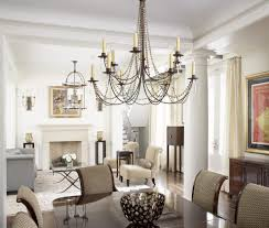 chandelier light fixture dining room tropical with glass vase
