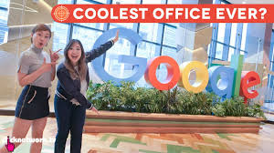 coolest office ever google office tour hype hunt ep18 youtube