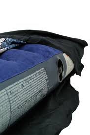 air mattress u0026 futon cover queen size 80 u0027s paisley safari green